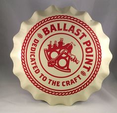 2100901f78bbd Ballast Point Brewery Tin Tacker. Find sweet tin tackers (metal beer signs)  for