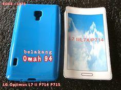 Kode Barang 1875 Jual Silikon Soft Case LG Optimus Dual L7 ii P714 P715 Biru (Blue) | Toko Online Rame - rameweb