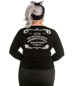 Ouija Board Cardigan