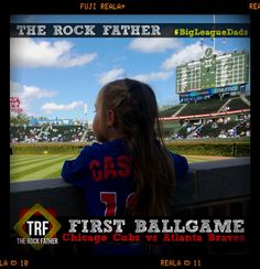 Baseball. My Grandpa. And My First Ballgame with the Girls... #BigLeagueDads in Chicago...