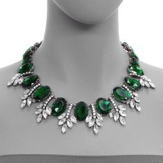 Snatch 'N Dash - The Shelby Collection - Green Collar Necklace - Ends 11/30/2013