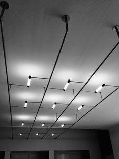 Bauhaus, Dessau, 2015 (Photo: Mathias Jahn) Unique Lighting, Track Lighting, Decorative Lighting, Bauhaus, Spot Light, Lighting Concepts, My Sewing Room, Light Architecture, Light Decorations