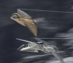 UCAV EDI & F/A 37 Talon (fictional aircraft from the film Stealth)