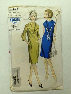 Vintage Vogue Pattern 6223 Bust 32 Sailor by momandpopcultureshop