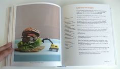 Another layout from the same cookbook. Don't like the caption though.