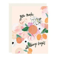 All Things Bright Card – Our Heiday