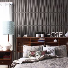 Inhabit's Drift Wall Flats are the original Wall Panels. Inhabit is your source for environmentally friendly modern furnishings for your home. Decorative Wall Panels, 3d Wall Panels, 3d Wandplatten, Textures Murales, Interior Walls, Interior Design, 3d Wall Tiles, Modern Wallpaper, Wallpaper Awesome