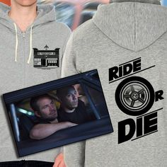 Furious 7 Fast and Furious Inspired Hoodie by KingBossDesign