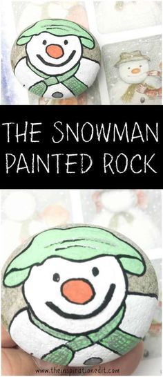 The Snowman painted