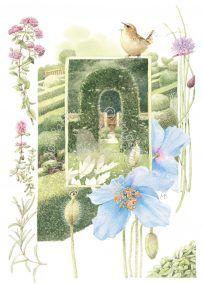 Entry to the Herb Garden • Marjolein Bastin