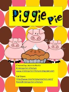This activity consist of 4 short i word families (-it, -in, -ig, -ip).Kids love feeding the pies to the correct piggie!...