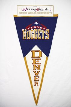 NBA Pennant Denver Nuggets - Nuggets Logo