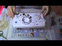 Haciendo dijes y pulseras con resina Parte 1 Resin Jewelry, Jewelry Art, B Plan, Resin Tutorial, Crystal Resin, Resin Crafts, Art Tutorials, Dollhouse Miniatures, Decoupage
