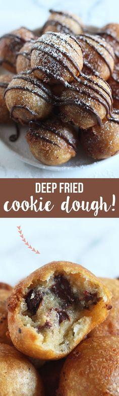#deepfried #cookiedough #food #foodie #desert