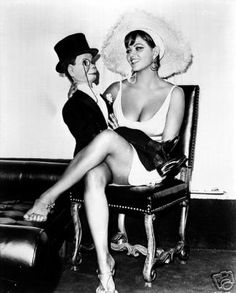 1967: Don't Make Waves  Tony Curtis and Claudia Cardinale