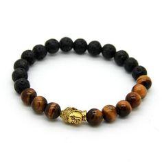Buddha Gold Bracelet - TakeClothe #TakeClothe #Mensfashion #Fashion #Streetstyle #Bracelets
