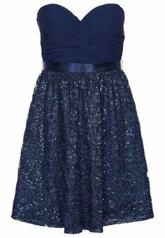 Sukienka koktajlowa - niebieski