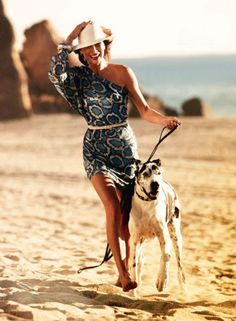 love this dog and this dress!!!