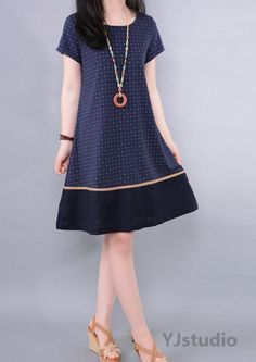 Vestidos para entregar Lovely Dresses, Simple Dresses, Casual Dresses, Summer Dresses, Linen Dresses, Cotton Dresses, Dress Outfits, Fashion Dresses, Only Shirt