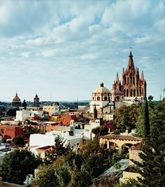A good friend of mine is thinking of moving home to Mexico- San Miguel de Allende.  It's like Spain, 3 hours south of DFW.