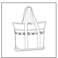 Travel Tote - $98-$128
