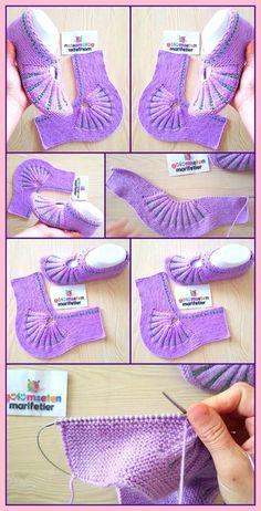 Crochet Ideas For Slippers, Boots And Socks - Diy Rustics, Hausschuhe unterhalten Crochet Ideas For Slippers, Boots And Socks - Diy Rustics, Diy Crochet Projects, Diy Crafts Crochet, Crochet Ideas, Diy Projects, Crochet Boots, Crochet Baby, Knit Crochet, Unique Crochet, Modern Crochet