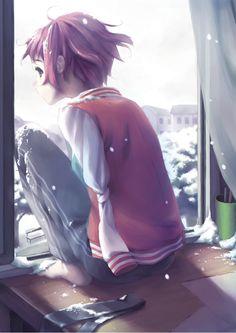 """Rin Tezuka  My  favorite character from the visual novel """"Katawa Shoujo"""""""