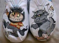 Omigosh my son would love these Where the Wild Things Are TOMS