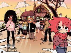"""Scott Pilgrim-Dudes """"Seconds"""" is a Magic Mushroom-Comic"""