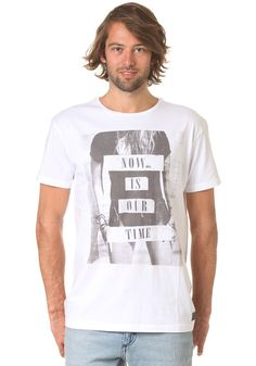 QUIKSILVER Baycliff B S/S T-Shirt white #planetsports