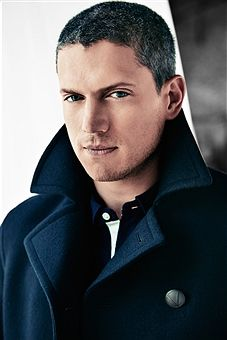 Actor Wentworth Miller is photographed for August Man in August, 2014, in New York City.