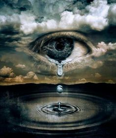 Crying eye