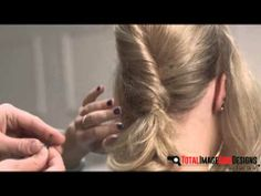 Try and create your own Low French Roll hairstyle, it's fun and it's easy. Learn more at  http://totalimagehairdesigns.com/create-french-roll