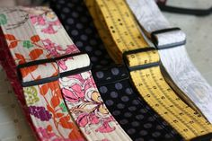 how to sew lovely straight lines  http://oneshabbychick.typepad.com/one_shabby_chick/2011/11/guitar-strap-tutorial.html#