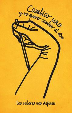 Valor: Tolerancia // Agencia: Ogilvy & Mather. Equipo Creativo: Rodrigo Sotomayor.