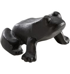 Frog Doorstop Cast Iron