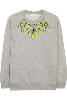 Matthew Williamson embellished sweatshirt