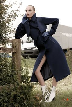 Cara Delevingne by Glen Luchford for Vogue UK November 2012