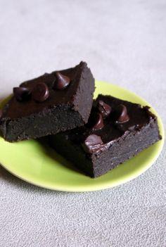 Black Bean Avocado Brownies