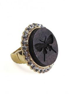 Natural Monarch Ring $15.00