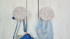 2 Garderobenhaken / Schmuckhalter AUTUMN LEAVES von LoveTurkey auf DaWanda.com