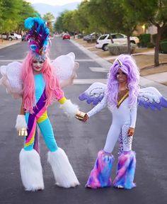 Khia Lopez and Vandty Jaidenn (Diy Costume)