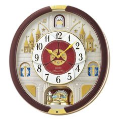 Seiko Melodies in Motion Clock 2016 Musical Christmas Wall Clock Collector NEW #Seiko