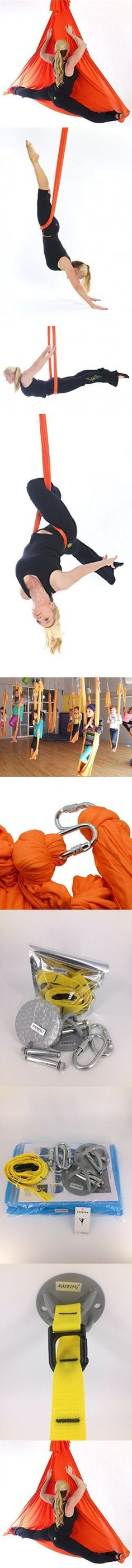 dasking 5m premium aerial silks equipment aerial yoga hammock set antigravity yoga aerial silk yoga set safe deluxe aerial kit   products dasking 5m premium aerial silks equipment aerial yoga hammock set      rh   pinterest