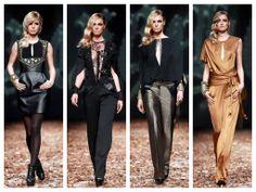 #fashion #mode #moda #ropa #hippygarden #gold #black #fashionshow #croaporter