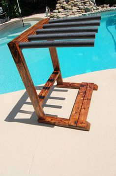 Boardwalk Model VERTICAL Surfboard Rack by MelsBigRacks on Etsy