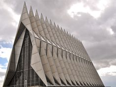 USAF Academy Cadet Chapel, Colorado Springs, CO.