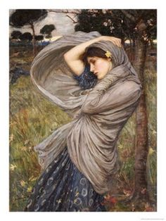 john-waterhouse-boreas rushing wind by katinthecupboard, via Flickr