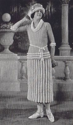 Vintage Knitting Crochet Patterns 1920s Sweaters by Dazespast