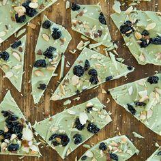 Matcha Recipes: Matcha–White Chocolate Bark   CookingLight.com